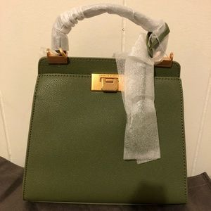 Charles & Keith Classic Push-Lock Bag